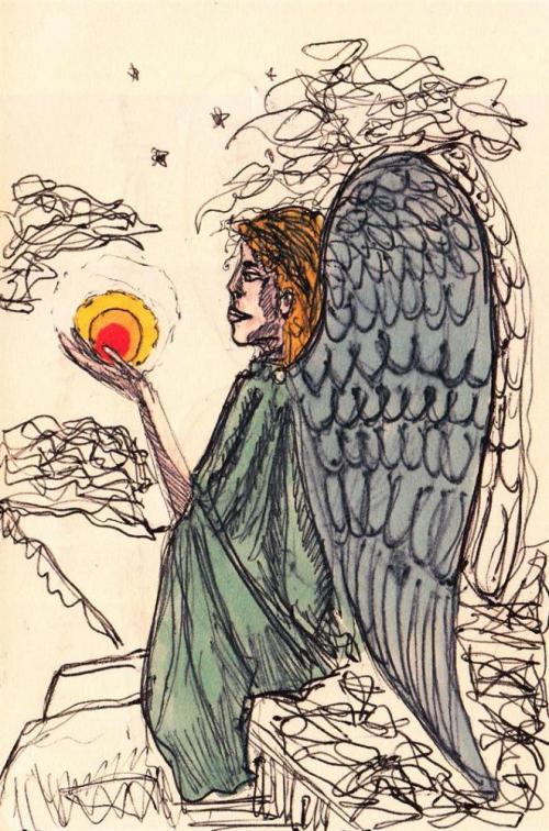 angelo, disegno