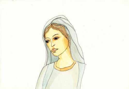 santa maria - luca beolchi graphics and drawings