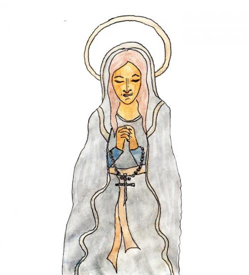 santa maria - luca beolchi drawings