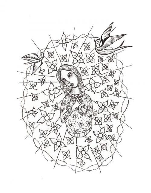 saint mary drawings