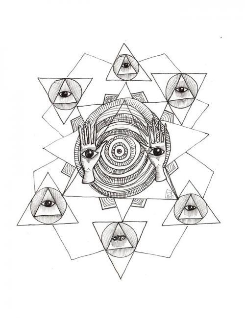 disegni mistici, iconografia mistica