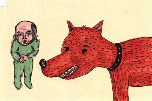 the dog is brown - luca beolchi, disegni, pantoni