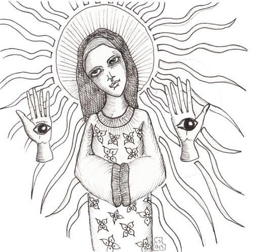 saints drawings