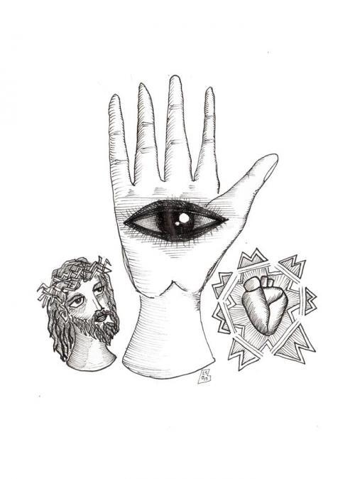 disegni mistici, iconografia